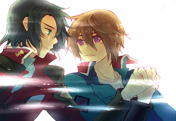 Tags: Anime, 1020g, Mobile Suit Gundam SEED Destiny, Mobile Suit Gundam SEED, Athrun Zala, Kira Yamato, Fanart From Pixiv, Pixiv, Fanart