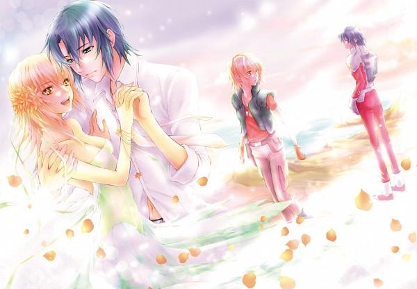 Tags: Anime, Pixiv Id 377716, Mobile Suit Gundam SEED, Mobile Suit Gundam SEED Destiny, Athrun Zala, Cagalli Yula Athha