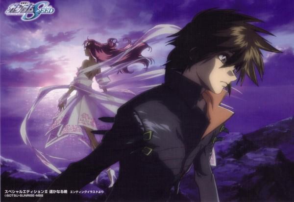 Tags: Anime, Mobile Suit Gundam SEED, Mobile Suit Gundam SEED Destiny, Lacus Clyne, Kira Yamato, Wallpaper