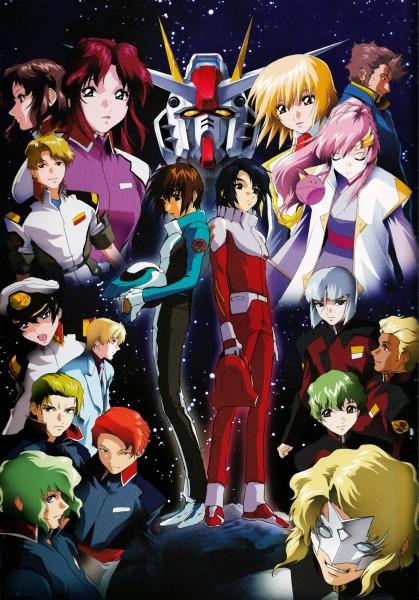 Tags: Anime, Mobile Suit Gundam SEED Destiny, Mobile Suit Gundam SEED, Mobile Suit Gundam 00, Yzak Joule, Orga Sabnak, Rau Le Creuset, Murue Ramius, Clotho Buer, Lacus Clyne, Flay Allster, Rain Mikamura, Mwu La Flaga