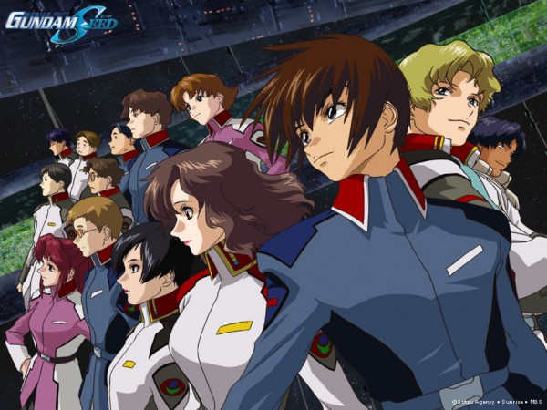 Tags: Anime, Mobile Suit Gundam SEED, Mobile Suit Gundam SEED Destiny, Murue Ramius, Mu La Flaga, Natarle Badgiruel, Miriallia Haw, Kira Yamato, Flay Allster