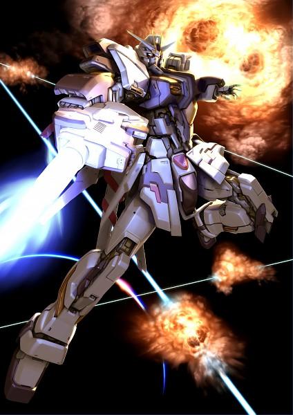 Tags: Anime, Mobile Suit Gundam SEED, Strike Gundam, Explosion