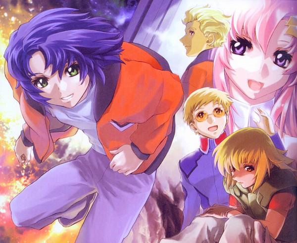 Tags: Anime, Mobile Suit Gundam SEED Destiny, Mobile Suit Gundam SEED, Lacus Clyne, Dearka Elsman, Athrun Zala, Cagalli Yula Athha, Sai Argyle