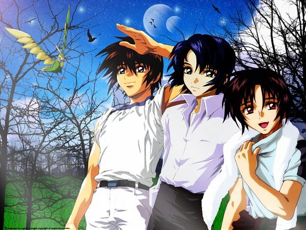 Tags: Anime, Mobile Suit Gundam SEED, Mobile Suit Gundam SEED Destiny, Athrun Zala, Shinn Asuka, Kira Yamato, Wallpaper