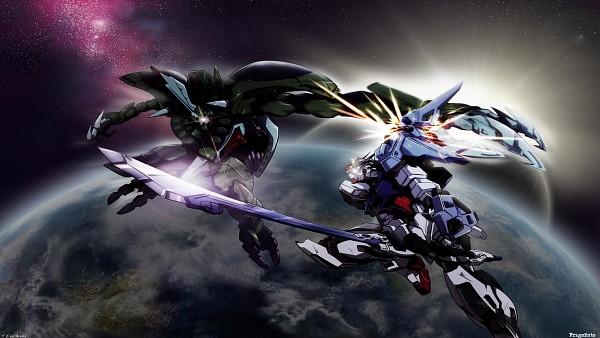 Tags: Anime, Mobile Suit Gundam SEED, Strike Gundam, Edited, HD Wallpaper, Wallpaper, Fanmade Wallpaper