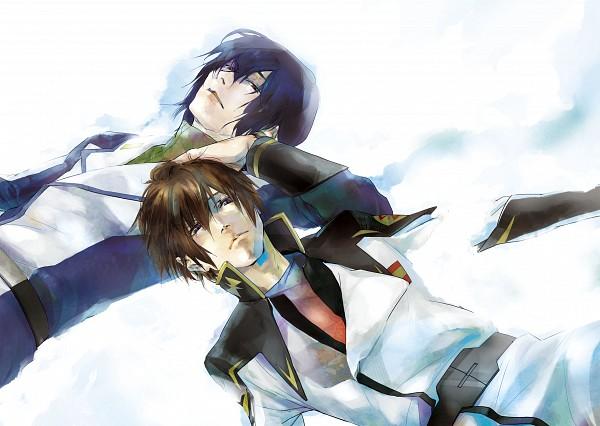 Tags: Anime, Pixiv Id 545506, Mobile Suit Gundam SEED, Mobile Suit Gundam SEED Destiny, Athrun Zala, Kira Yamato, Fanart, Pixiv