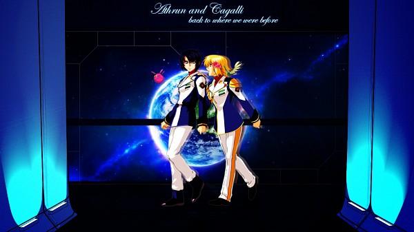 Tags: Anime, Mobile Suit Gundam SEED Destiny, Mobile Suit Gundam SEED, Athrun Zala, Cagalli Yula Athha