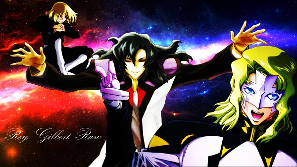 Tags: Anime, Mobile Suit Gundam SEED, Mobile Suit Gundam SEED Destiny, Rau Le Creuset, Gilbert Durandal, Rey Za Burrel
