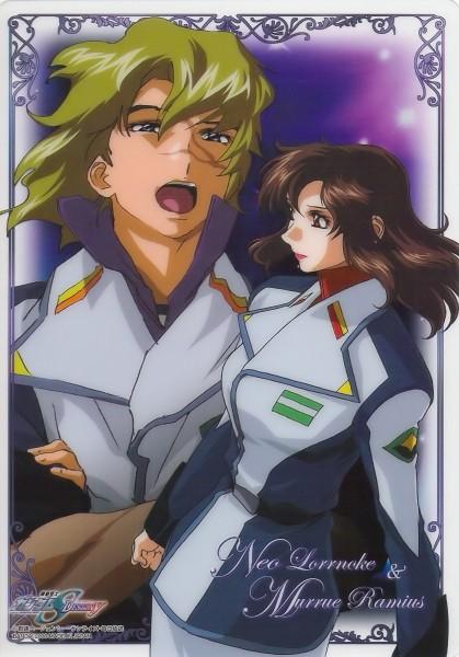 Tags: Anime, Mobile Suit Gundam SEED, Mobile Suit Gundam SEED Destiny, Murue Ramius, Mwu La Flaga