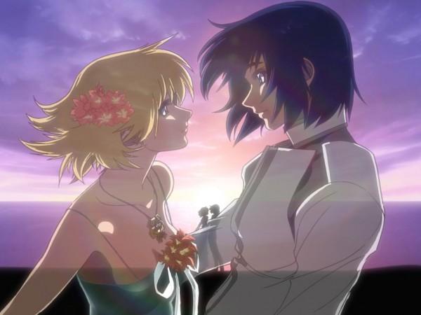 Tags: Anime, Mobile Suit Gundam SEED, Mobile Suit Gundam SEED Destiny, Cagalli Yula Athha, Athrun Zala, Official Art