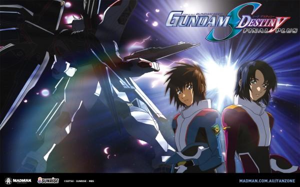 Tags: Anime, Mobile Suit Gundam SEED, Mobile Suit Gundam SEED Destiny, Kira Yamato, Strike Freedom Gundam, Athrun Zala, Wallpaper, Gundams