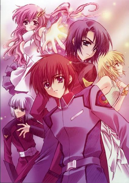 Tags: Anime, CARNELIAN, Mobile Suit Gundam SEED, Mobile Suit Gundam SEED Destiny, Benigyokuzui, Benigyokuzui Vol 9, Yzak Joule, Athrun Zala, Cagalli Yula Athha, Kira Yamato, Lacus Clyne, Mobile Wallpaper