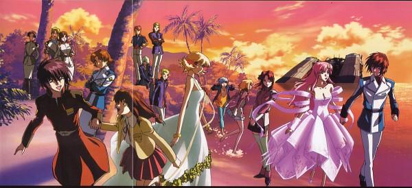 Tags: Anime, Mobile Suit Gundam SEED Destiny, Mobile Suit Gundam SEED, Sting Oakley, Natarle Badgiruel, Flay Allster, Cagalli Yula Athha, Orga Sabnak, Lacus Clyne, Murue Ramius, Shinn Asuka, Clotho Buer, Kira Yamato