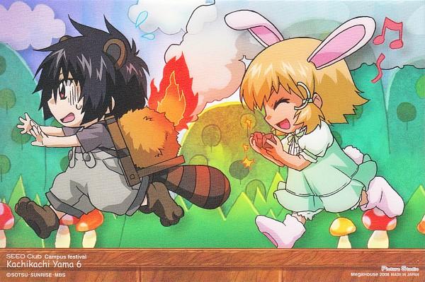 Tags: Anime, Mobile Suit Gundam SEED, Mobile Suit Gundam SEED Destiny, Cagalli Yula Athha, Shinn Asuka