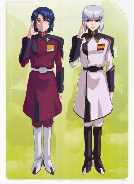 Tags: Anime, Higurashi Ryuuji, Mobile Suit Gundam SEED Destiny, Mobile Suit Gundam SEED, Athrun Zala, Yzak Joule, Official Art