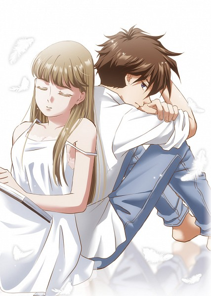 Tags: Anime, Rei (usabiba), Mobile Suit Gundam Wing, Relena Peacecraft, Heero Yuy, Mobile Wallpaper