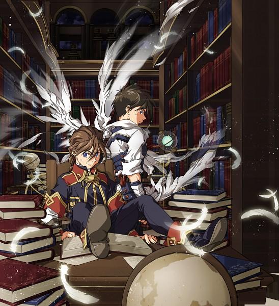 Tags: Anime, Kamibata, Mobile Suit Gundam Wing, Heero Yuy, Duo Maxwell