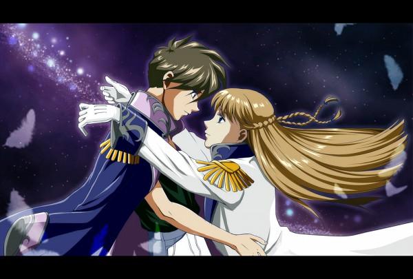 Tags: Anime, Rei (usabiba), Mobile Suit Gundam Wing, Heero Yuy, Relena Peacecraft, Kannazuki no Miko (Parody)