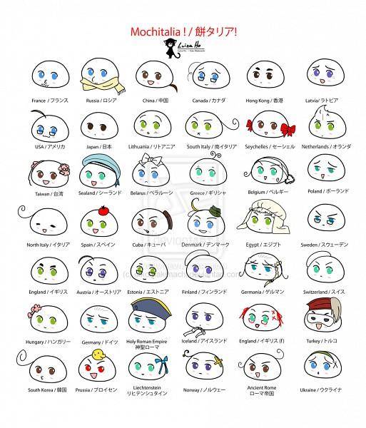 Tags: Anime, Eikomakimachi, Axis Powers: Hetalia, Mochicuba, Mochirussia, Mochi Korea, Mochiukraine, Egypt, Mochicanada, Mochi South Italy, Mochi Liechtenstein, Mochi Hong Kong, Mochiegypt