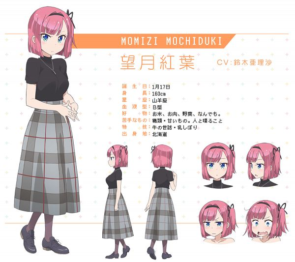 Mochizuki Momiji - NEW GAME!