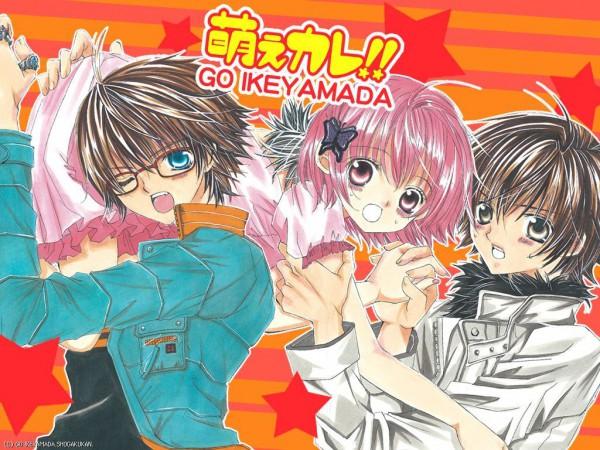 Tags: Anime, Moe Kare, Arata Ichikawa, Hikaru Wakamiya, Honda Takara, Wakamiya Hikaru, Wallpaper