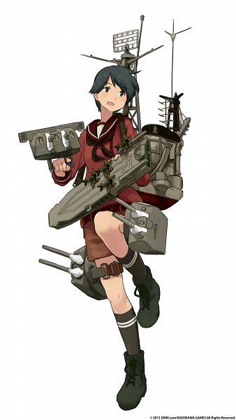 Tags: Anime, Shibafu, Kadokawa Games, Kantai Collection, Mogami (Kantai Collection), Official Art, Cover Image