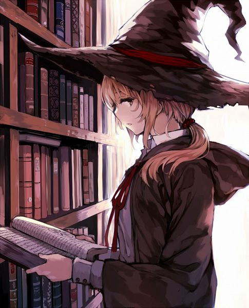 Tags: Anime, Mogumo, Library, Original