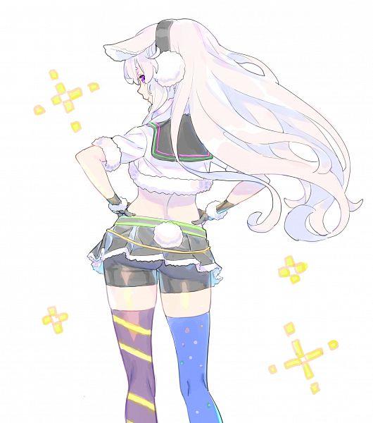 Tags: Anime, Nagisa Kurousagi, .LIVE, Mokomeme*channel, Mokota Mememe