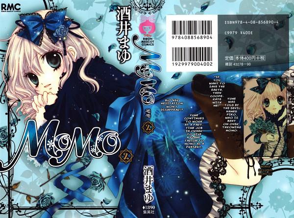 Tags: Anime, Sakai Mayu, MOMO - Shuumatsu Teien e Youkoso, Momo (MOMO - Shuumatsu Teien), Official Art, Scan