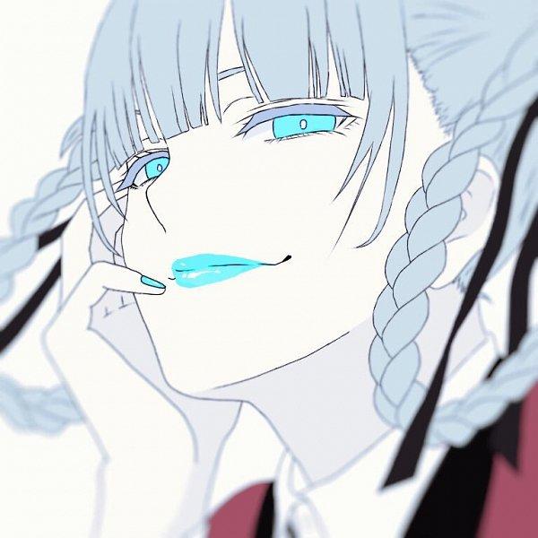 Tags: Anime, Pixiv Id 14887383, Kakegurui, Momobami Kirari, Blue Lips, Fanart, Fanart From Pixiv, Pixiv