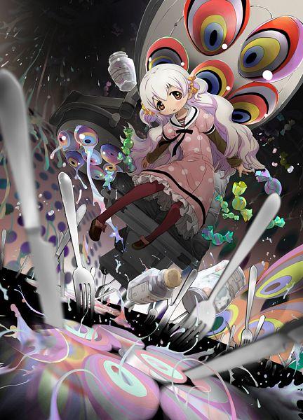 Tags: Anime, Takimiya Kazutaka, Mahou Shoujo Madoka☆Magica, Momoe Nagisa, Mobile Wallpaper