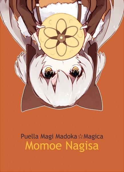 Tags: Anime, Hanyae, Mahou Shoujo Madoka☆Magica, Momoe Nagisa, Pixiv, Fanart, Fanart From Pixiv, PNG Conversion, Mobile Wallpaper
