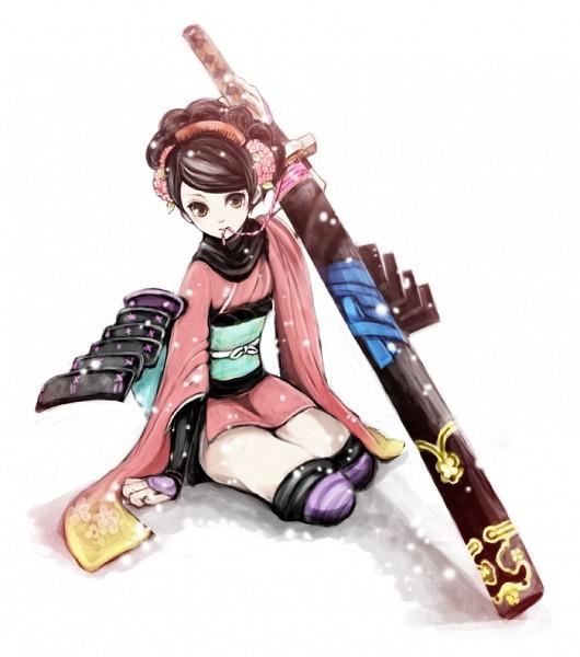 Momohime - Oboro Muramasa