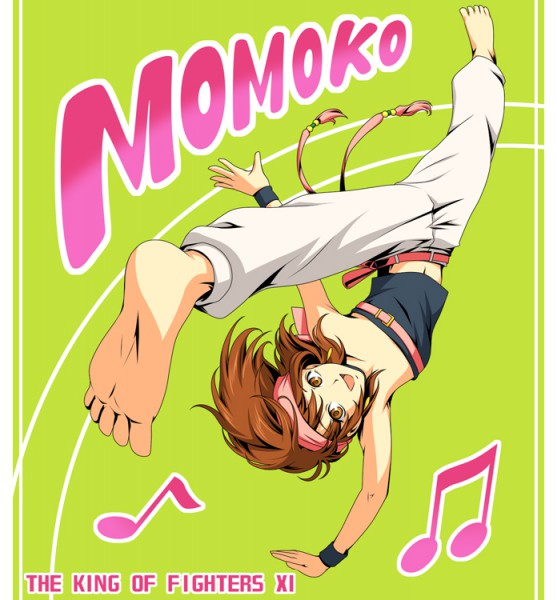 Momoko (King of Fighters) - The King of Fighters