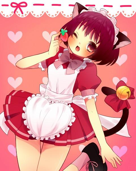Tags: Anime, Pixiv Id 1798694, Tokyo Mew Mew, Momomiya Ichigo, Pixiv, Fanart, Fanart From Pixiv, Zoey Hanson