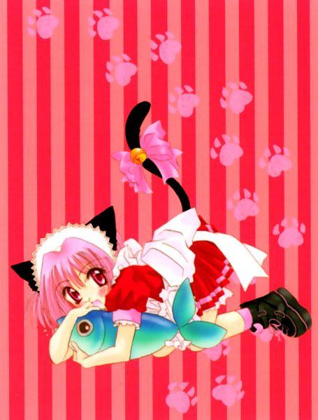 Tags: Anime, Ikumi Mia, Tokyo Mew Mew, Momomiya Ichigo, Official Art, Scan, Manga Color, Zoey Hanson