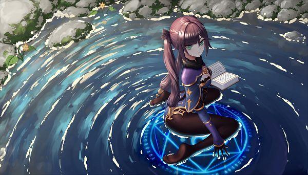 Tags: Anime, Pixiv Id 26591889, Genshin Impact, Mona (Genshin Impact), Star (Object), Pentagram