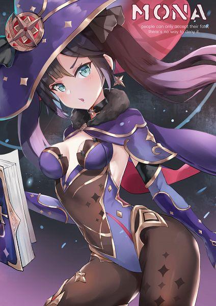 Tags: Anime, Pixiv Id 16633265, Genshin Impact, Mona (Genshin Impact)