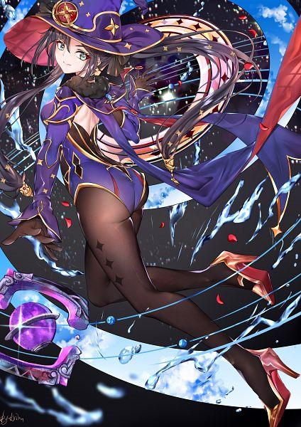 Tags: Anime, Pixiv Id 24760818, Genshin Impact, Mona (Genshin Impact)
