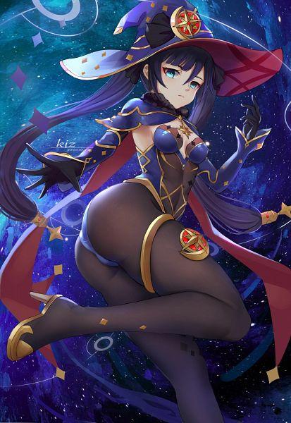 Tags: Anime, Pixiv Id 51734512, Genshin Impact, Mona (Genshin Impact), Star (Object)