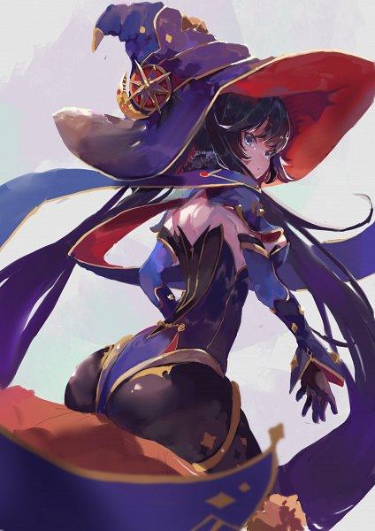 Tags: Anime, Pixiv Id 50129218, Genshin Impact, Mona (Genshin Impact), Star (Object), Fanart, Fanart From Pixiv, Pixiv