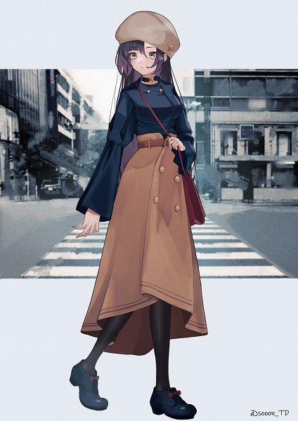 Tags: Anime, sooon, Genshin Impact, Mona (Genshin Impact), Contemporary, Crosswalk
