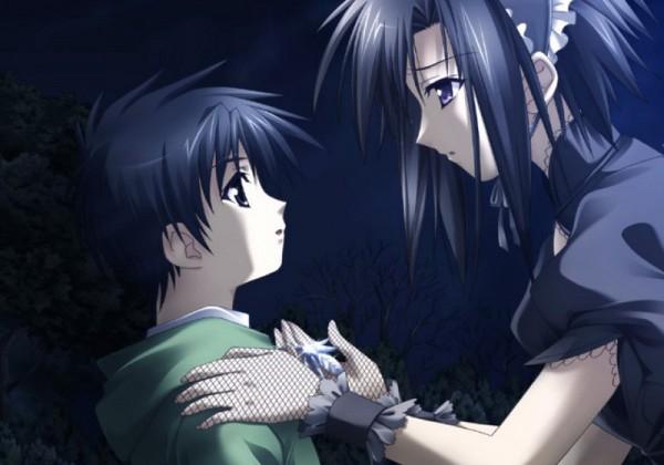 Tags: Anime, Monochrome (VN), Risa Tsubaki, CG Art