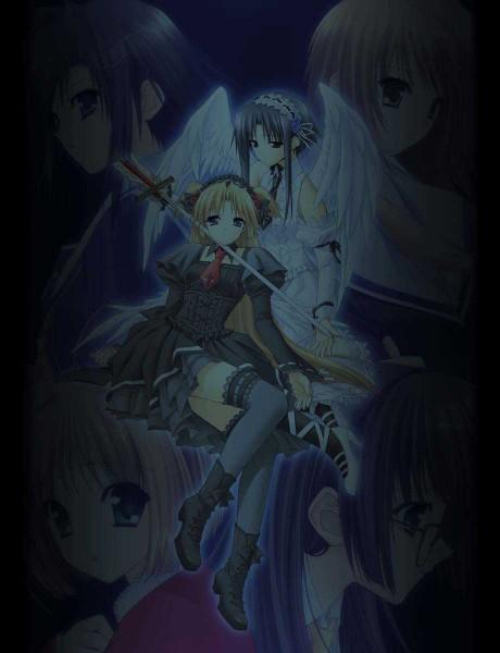 Tags: Anime, Suzuhira Hiro, Monochrome (VN), Yun, Risa Tsubaki