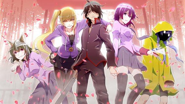 Tags: Anime, Monogatari Series: Second Season, Bakemonogatari, Monogatari, Nicemonogatari, Wallpaper