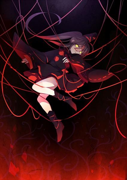 Tags: Anime, Yetworldview Kaze, Touhou, Mononobe no Futo, Geung Si, Mobile Wallpaper, Pixiv, Fanart From Pixiv, Fanart