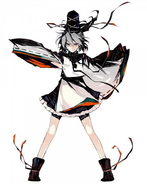 Tags: Anime, Minakata Sunao, Touhou, Mononobe no Futo, Shaded Face, Pixiv, Fanart, Fanart From Pixiv