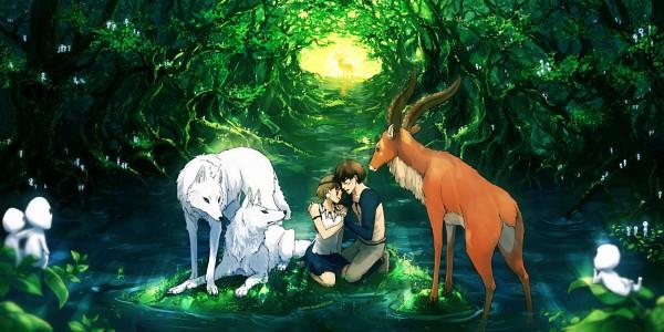 Mononoke Hime (Princess Mononoke) - Studio Ghibli