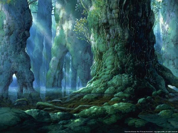 Tags: Anime, Studio Ghibli, Mononoke Hime, Princess Mononoke