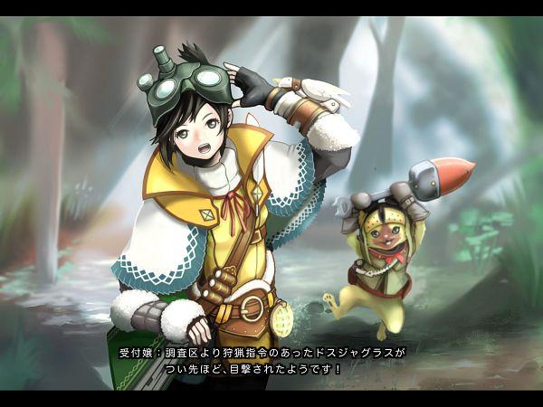 Anime Characters Monster Hunter World : Monster hunter world wallpaper zerochan anime